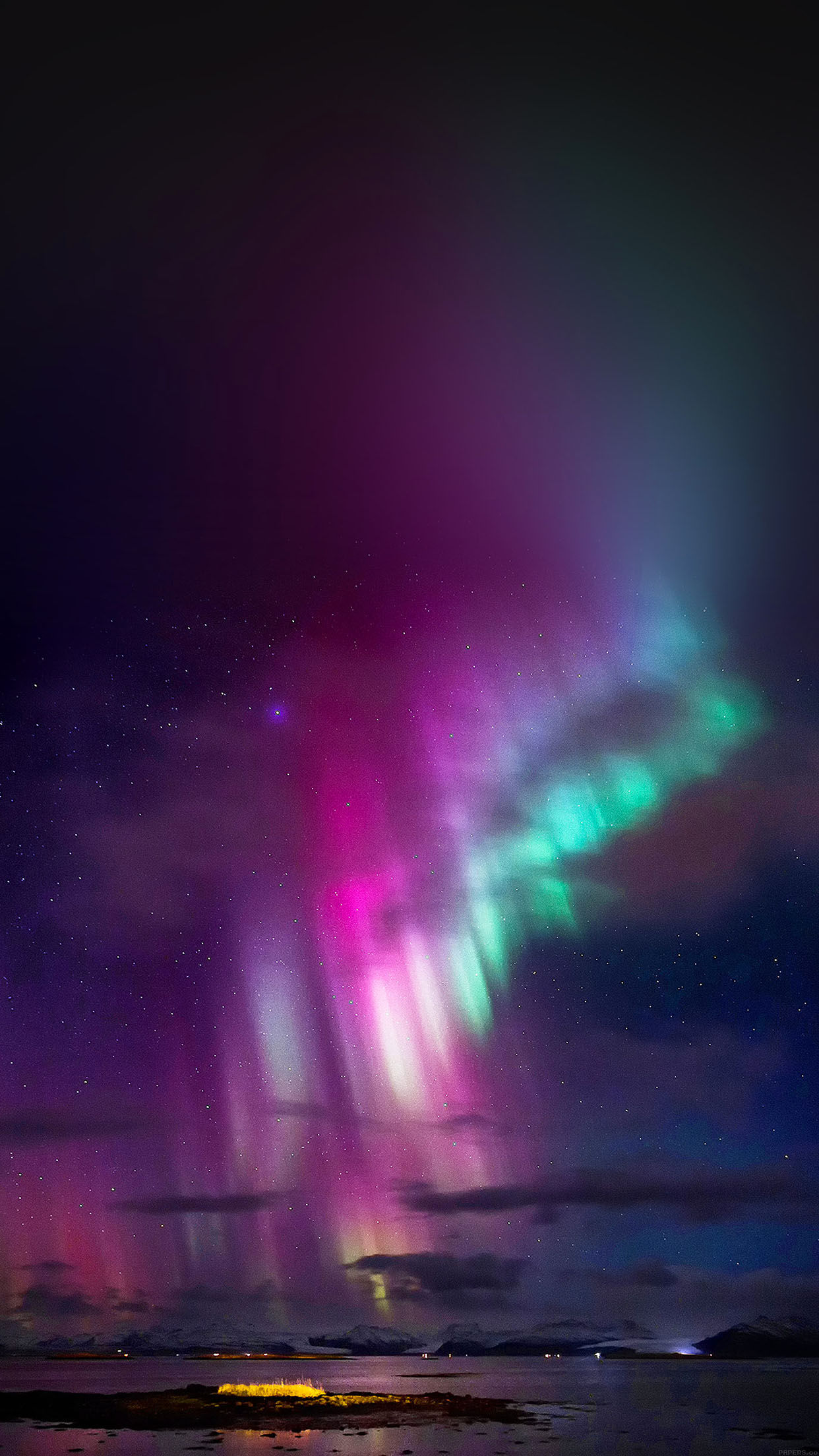 Christmas Northern Lights