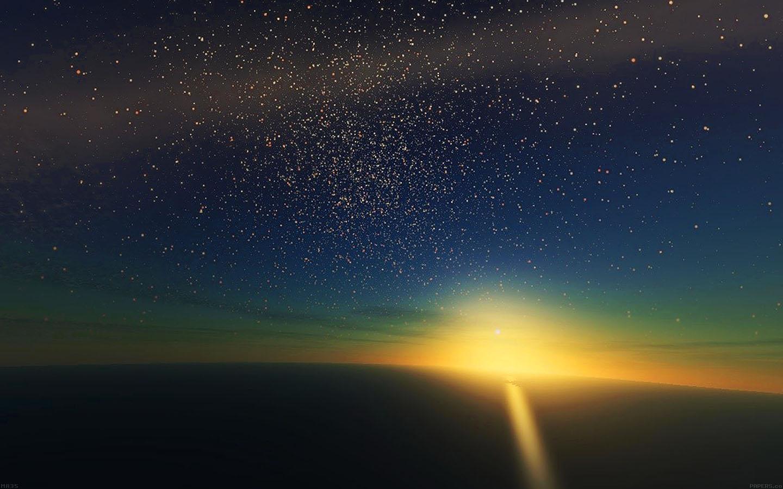 Cute Bokeh Wallpaper Ma35 Stars Shine Horizon Space Sky Nature Papers Co