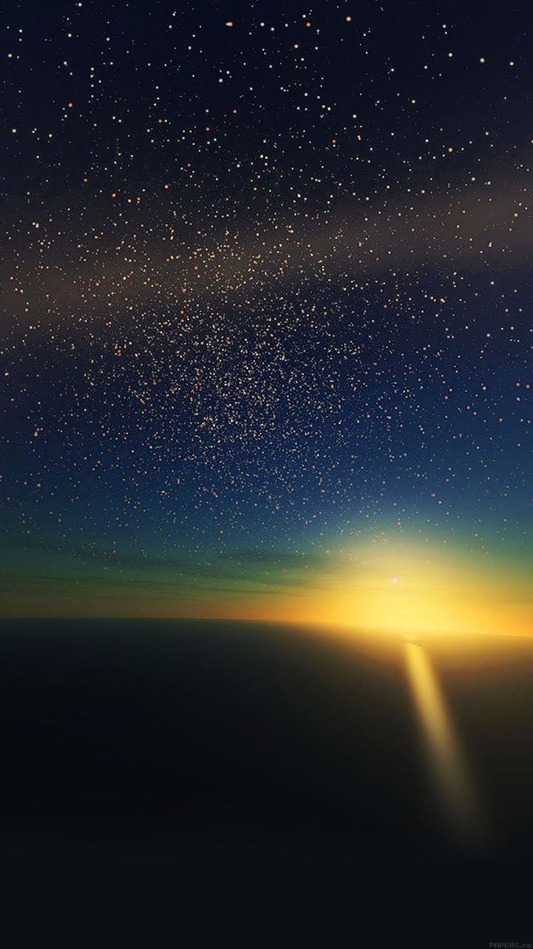 Ultra Hd Desktop Wallpapers Ma35 Stars Shine Horizon Space Sky Nature Papers Co