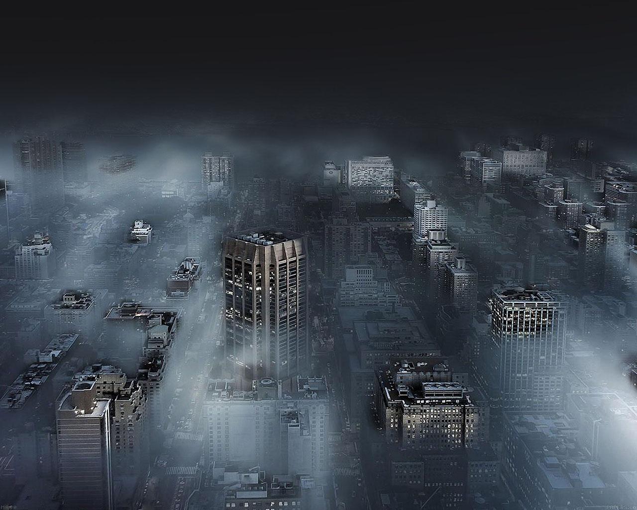 Fall Best Wallpapers Ma80 Dark City In Fog Nature Wallpaper