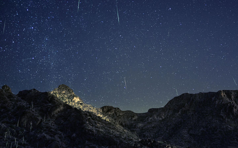 Fall Pixel Art Iphone Wallpaper Mc44 Wallpaper Bright Mountain Space Star Dark Wallpaper