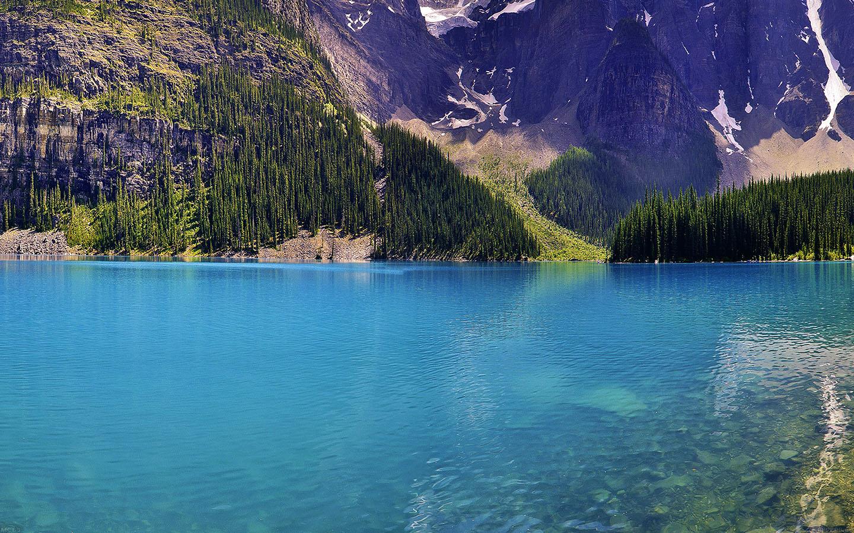 Iphone 5 Wallpaper Star Trek Mc63 Wallpaper Green Dive Lake River Nature Mountain