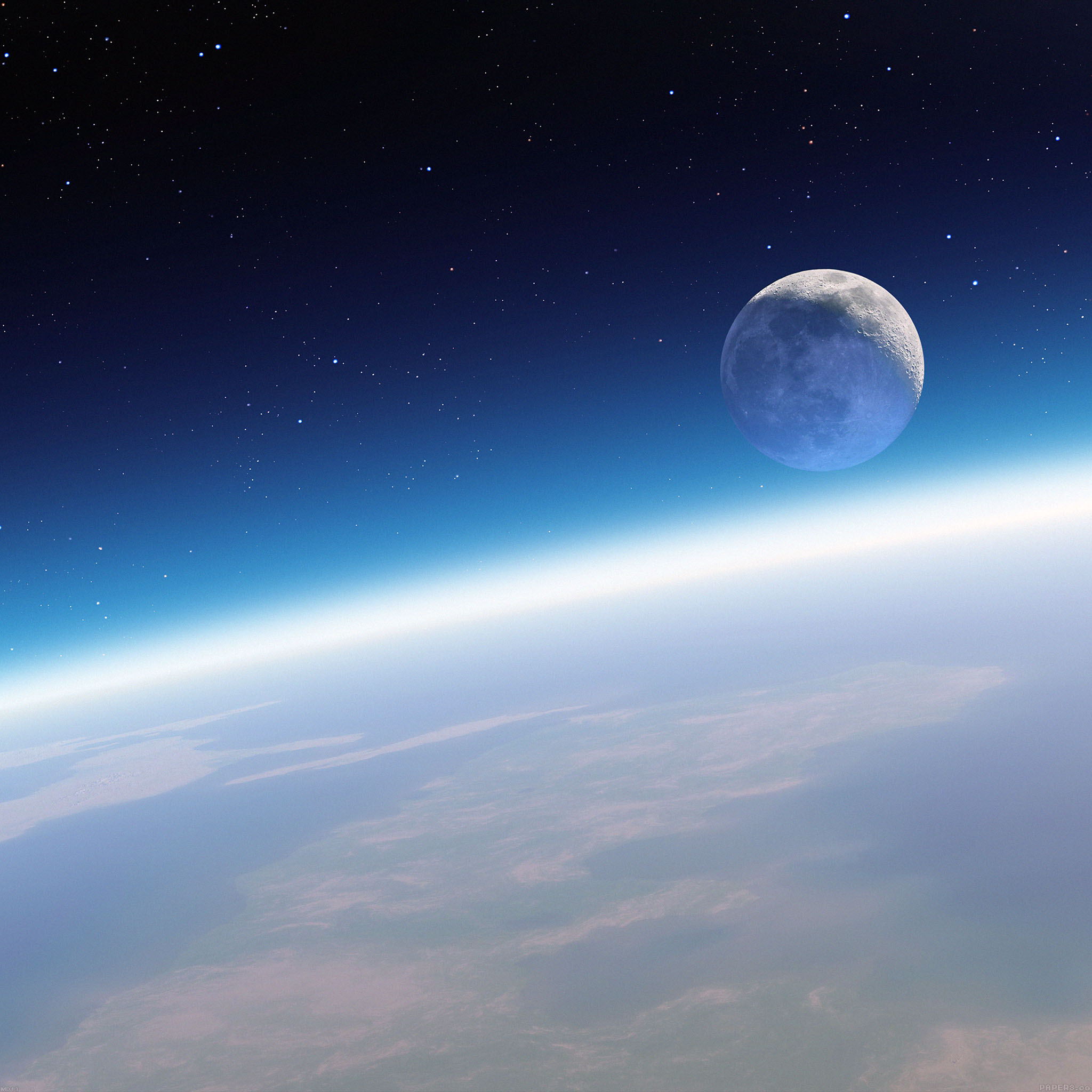 Samsung Galaxy Wallpaper Hd Md13 Wallpaper Earth Horizon In Space Papers Co