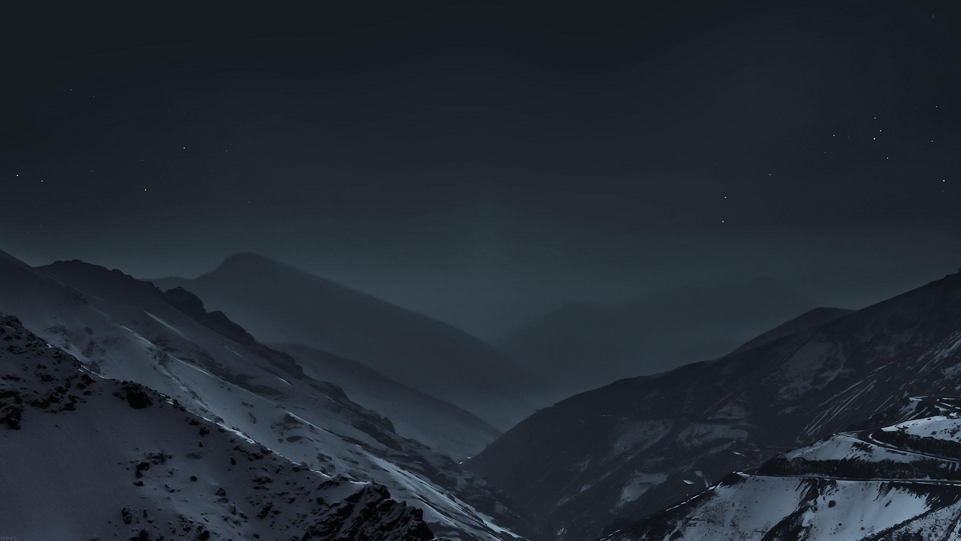 Iphone X Default Wallpaper 4k Md49 Wallpaper Nature Earth Dark Asleep Mountain Night