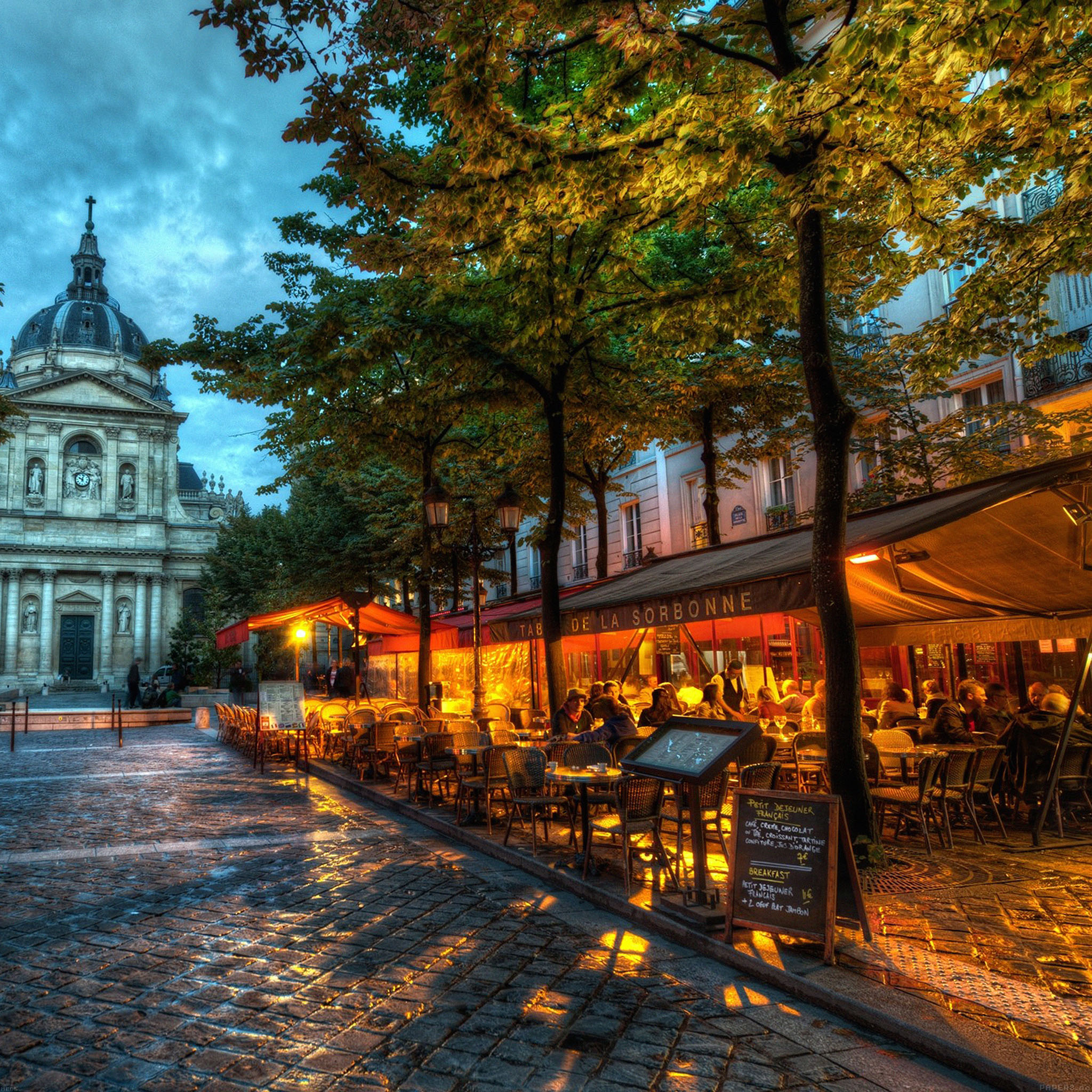 Google Fall Wallpaper Me85 De La Sorbonne City Street Papers Co