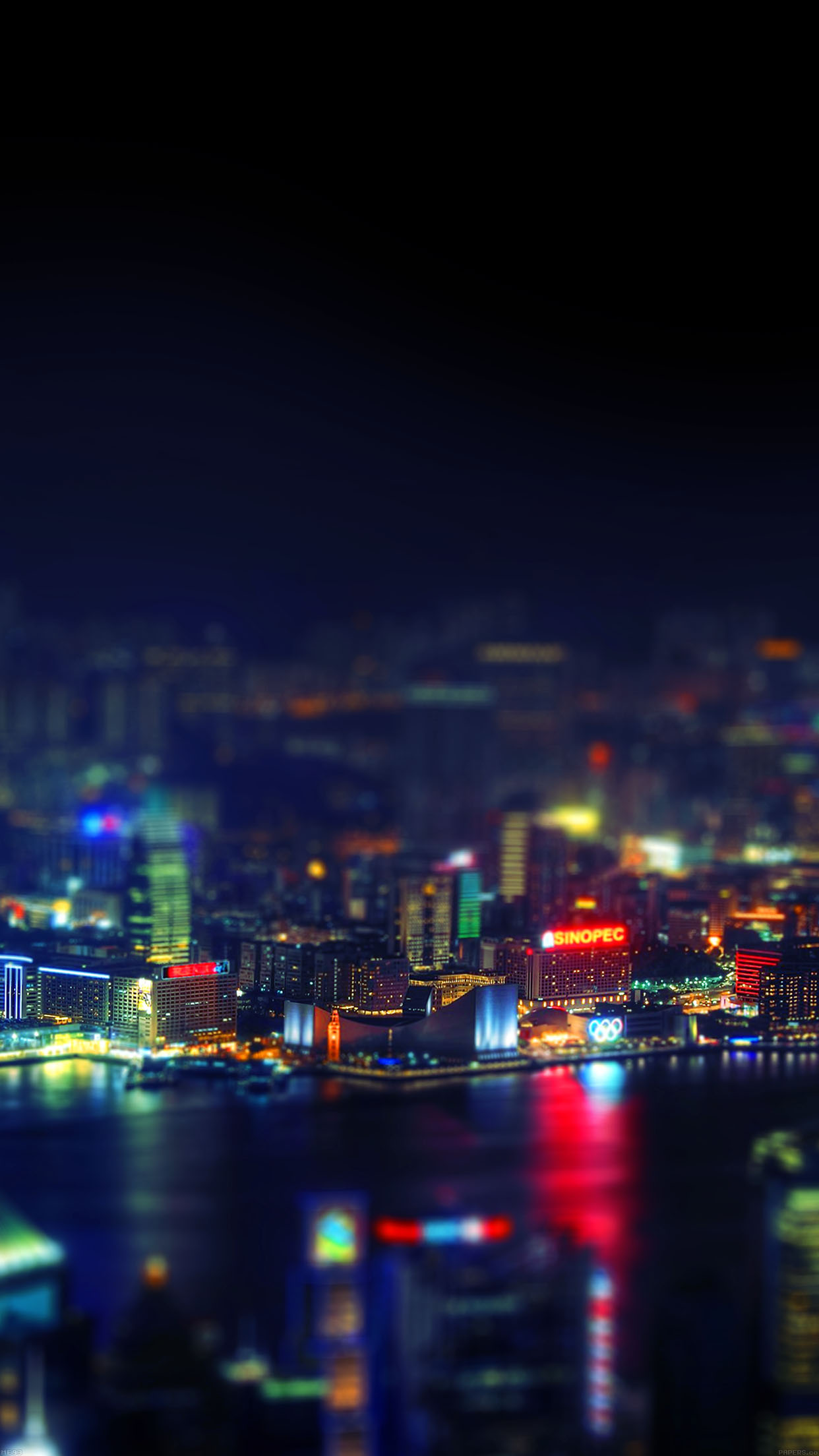 Cute Butterfly Phone Wallpaper Me93 Hongkong Night Cityscapes Lights Papers Co