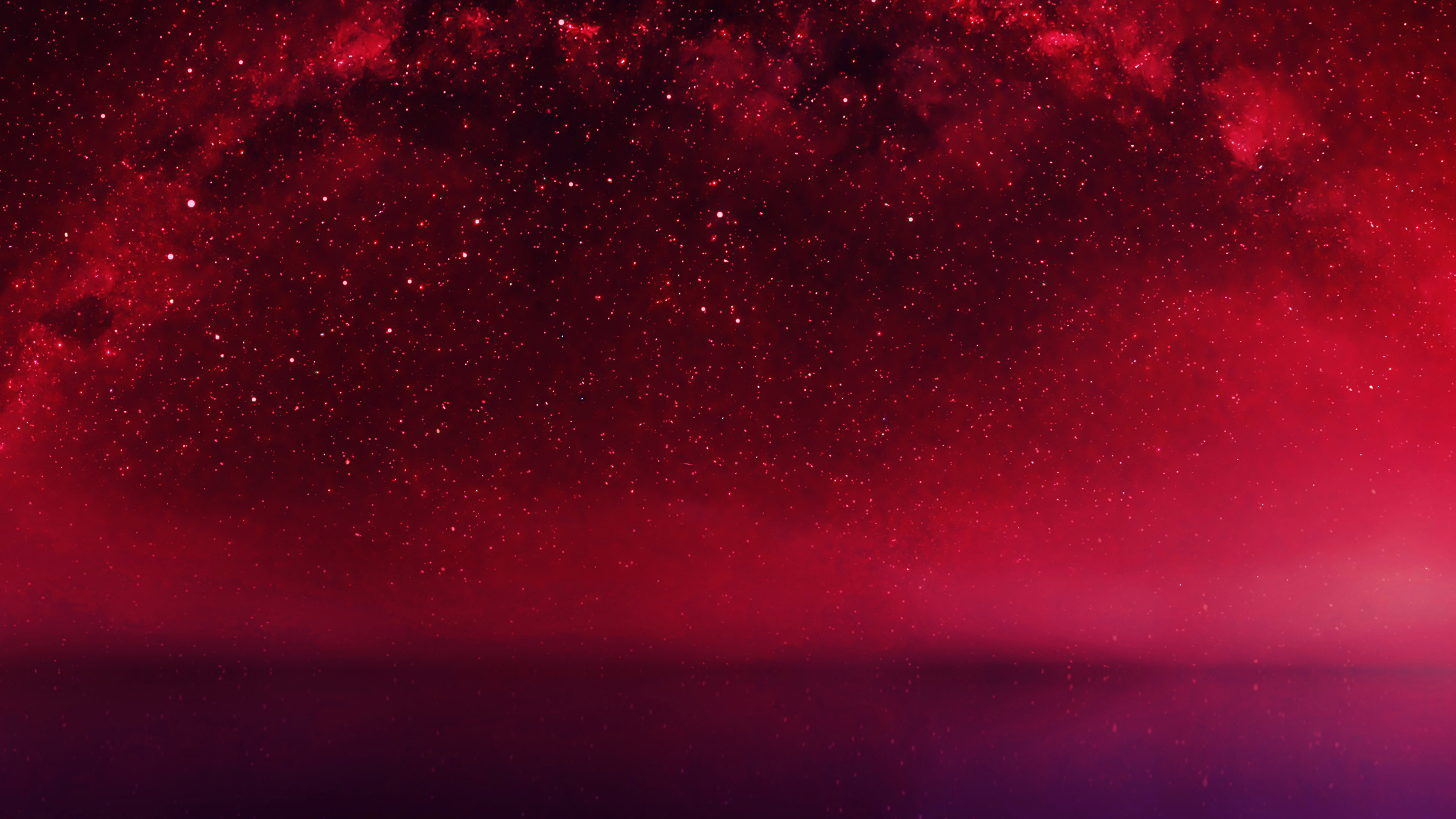 Cute Cartoon Fall Wallpaper Mf29 Cosmos Red Night Live Lake Space Starry Papers Co