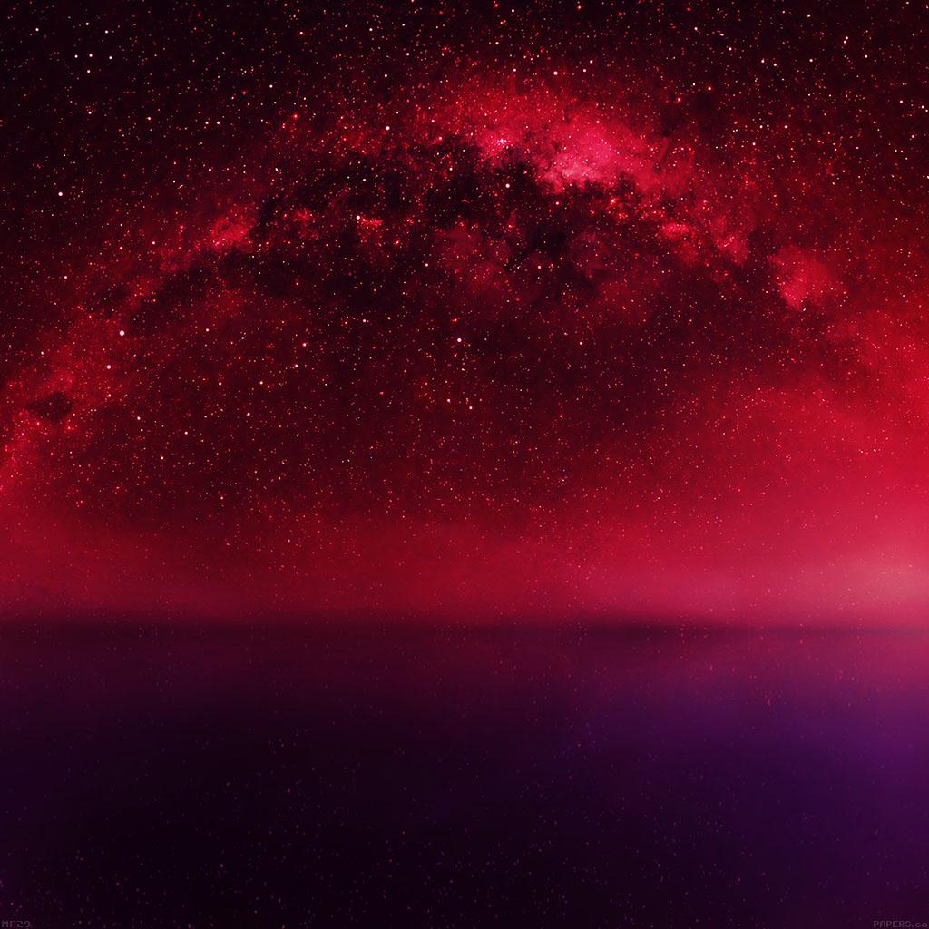 Starry Fall Night Wallpaper Ipad Retina