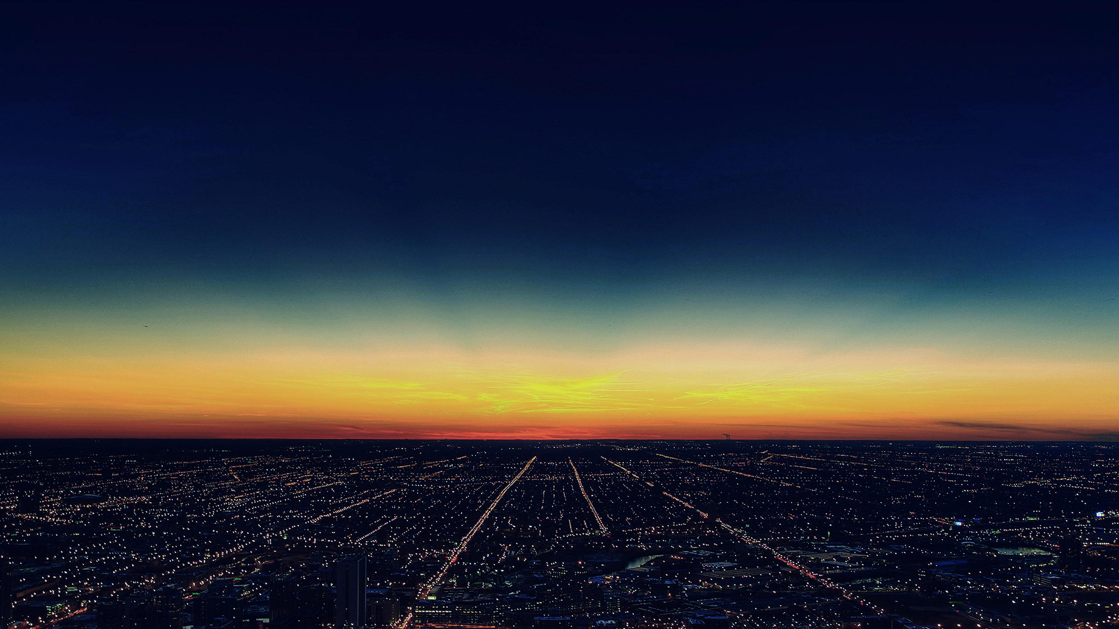 Wallpaper Sunrise At Fall Mg31 Night Sky Flying Blue Sunset City Wallpaper