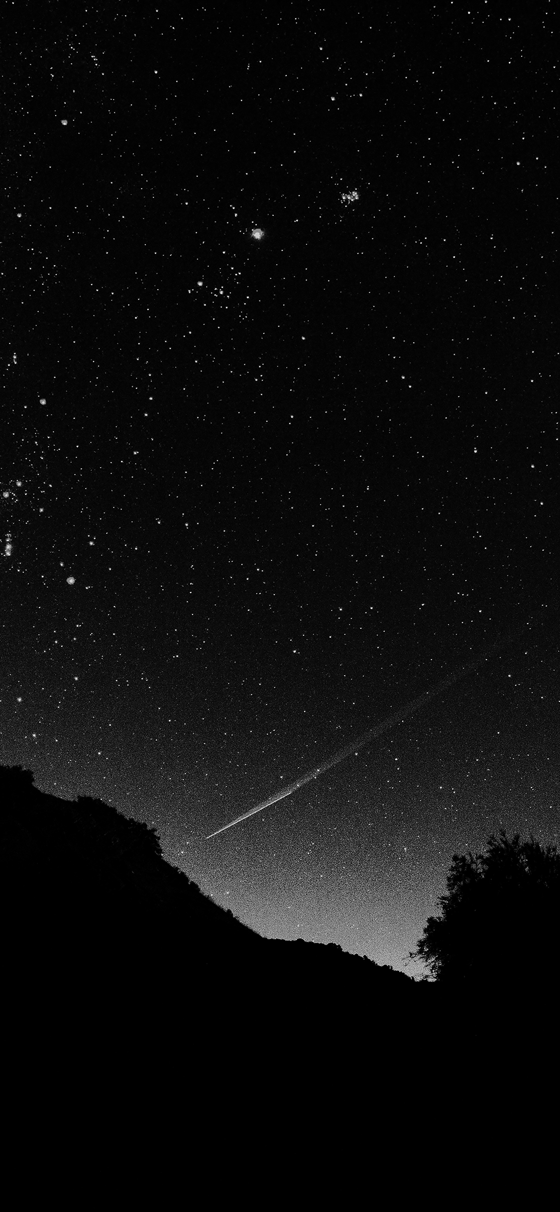 Falling Star Wallpaper Hd Mg37 Astronomy Space Black Sky Night Beautiful Falling