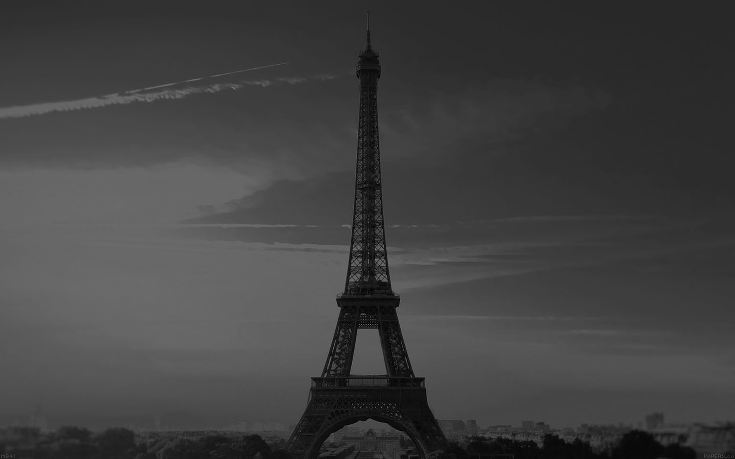 Paris Wallpaper Cute For Iphone Mg41 City Of Love Paris Eiffel Tower France Black And