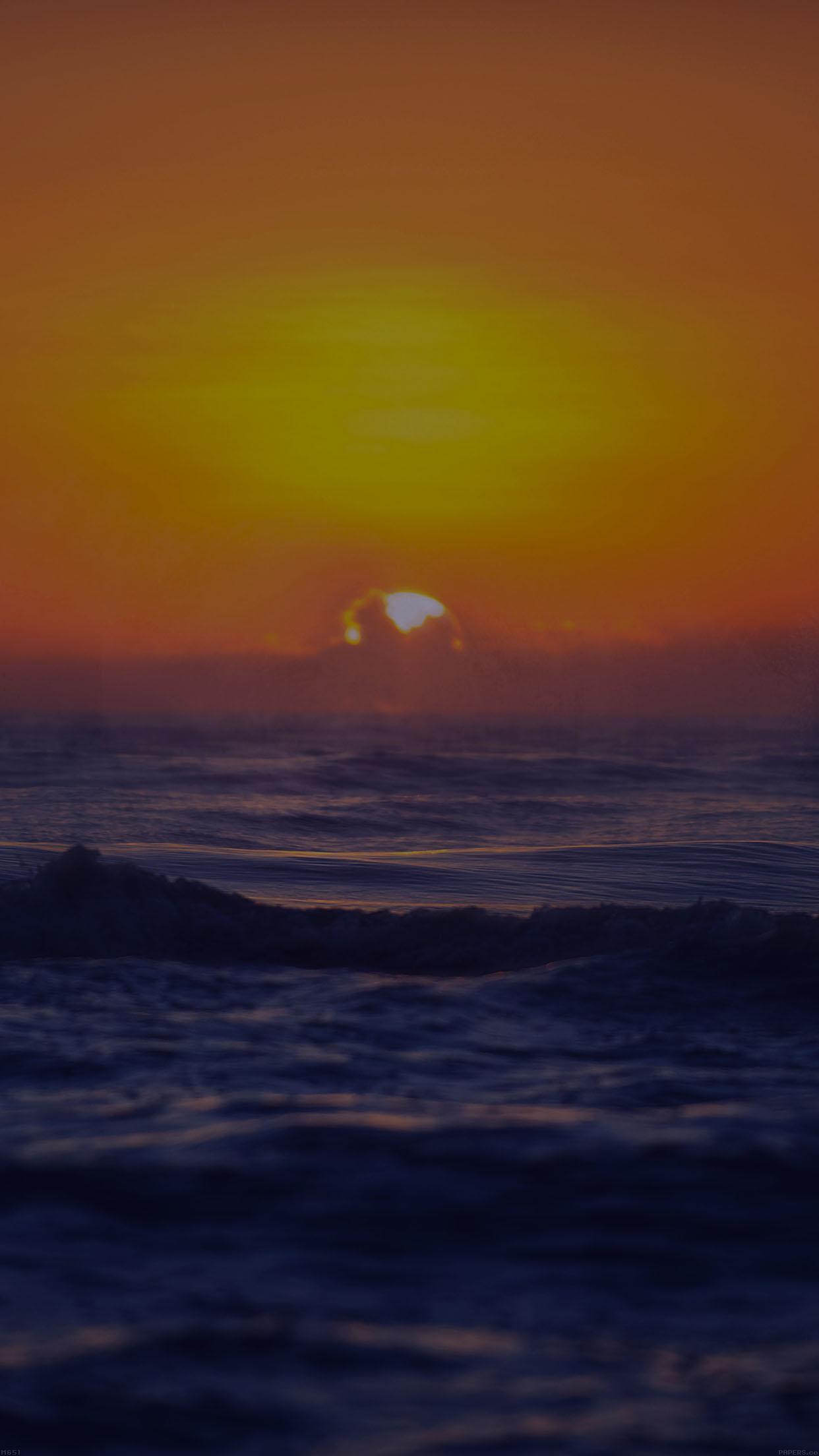 Disney Iphone 6 Wallpaper Mg51 Sea Spray Dark Sunset Ocean Water Nature Papers Co