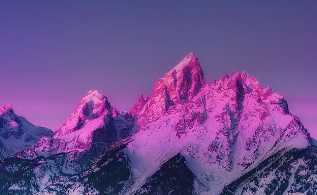 Mg91 Mountain Mother Blue Sunset Nature Awesome Sky Wallpaper