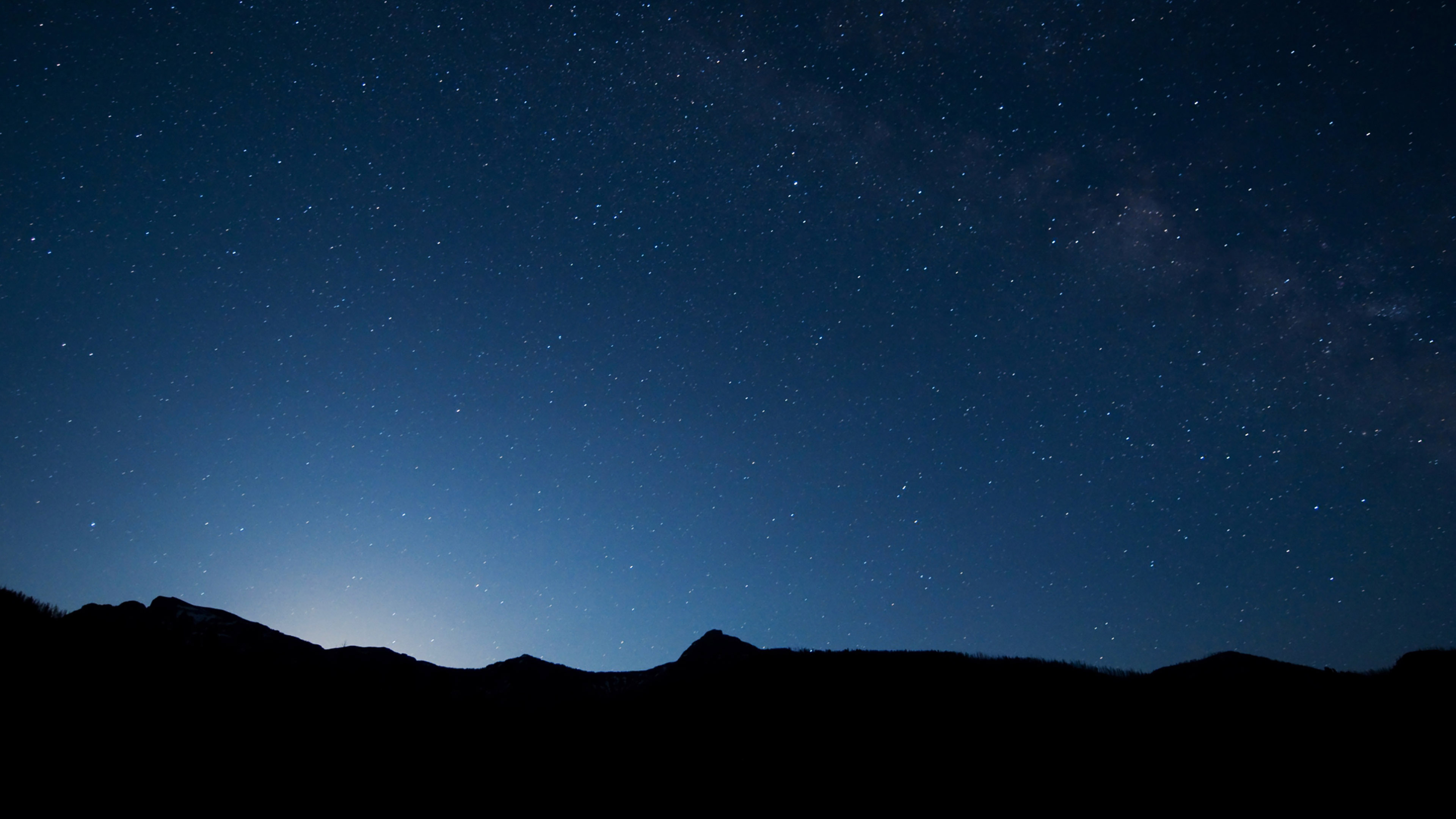 Animal Wallpaper Full Hd Mg92 Night Sky Wide Mountain Star Shining Nature Papers Co