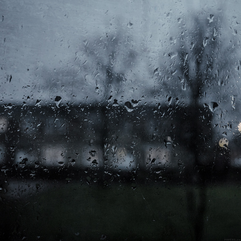 Good Wallpapers Iphone Mi63 Good To Stay Home Dark Rainy Window Wallpaper