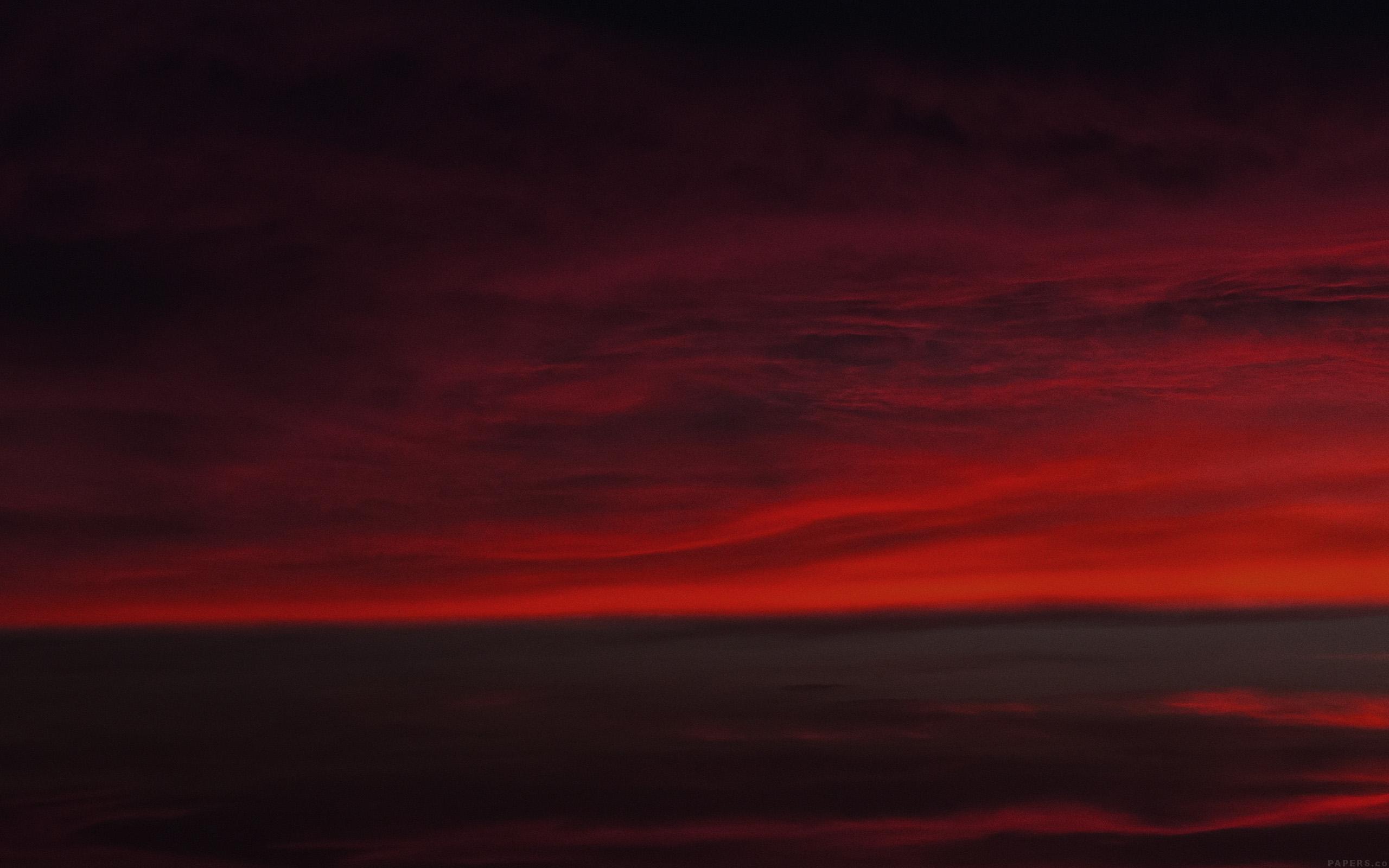Hd Car Wallpapers Mi69 Lotus Carroll Red Sky Was Falling Cloud Nature