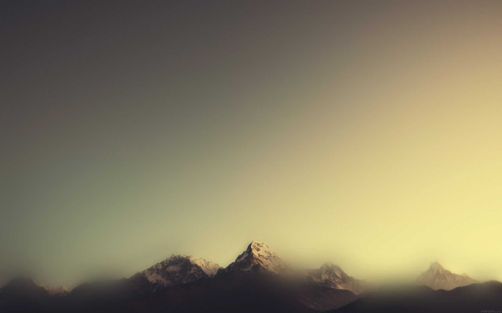 Fall Wallpapers For Iphone 4 Ml07 Mountain Blur Minimal Nature Papers Co
