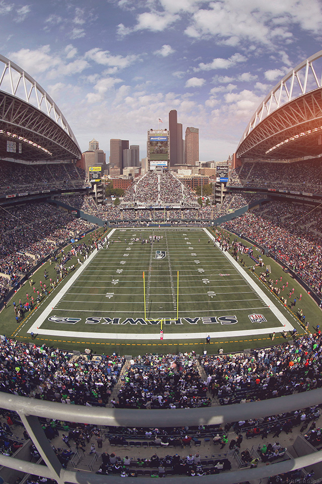 Seahawks Wallpaper Iphone X Mp98 Seahawks Seattle Sports Stadium Football Nfl Papers Co