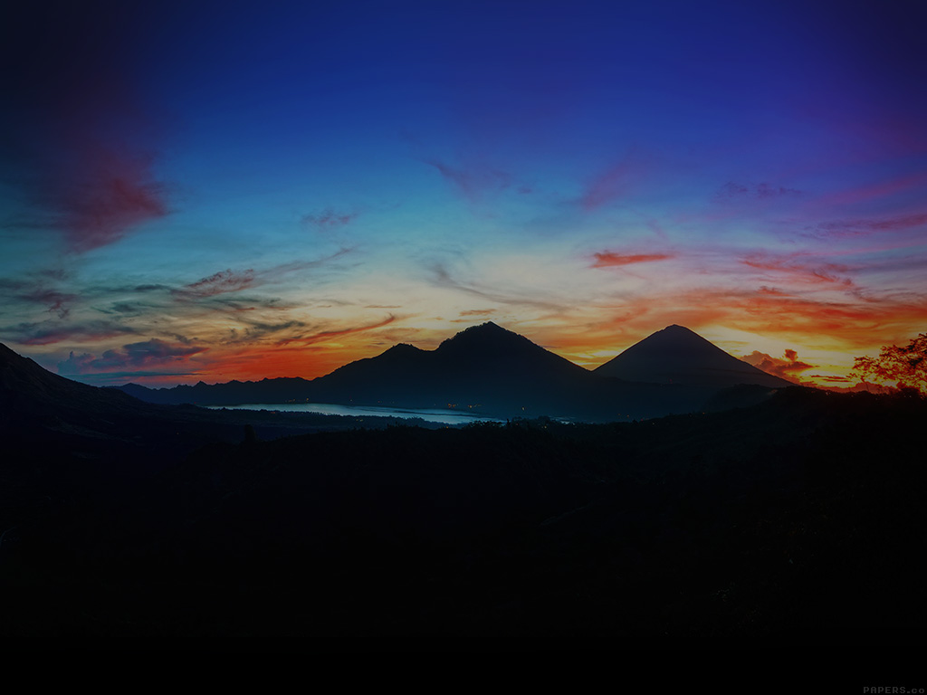 Fall Wallpapers For Iphone 4 Mq03 Mountain Sunrise Nature Best Sky Dark Wallpaper