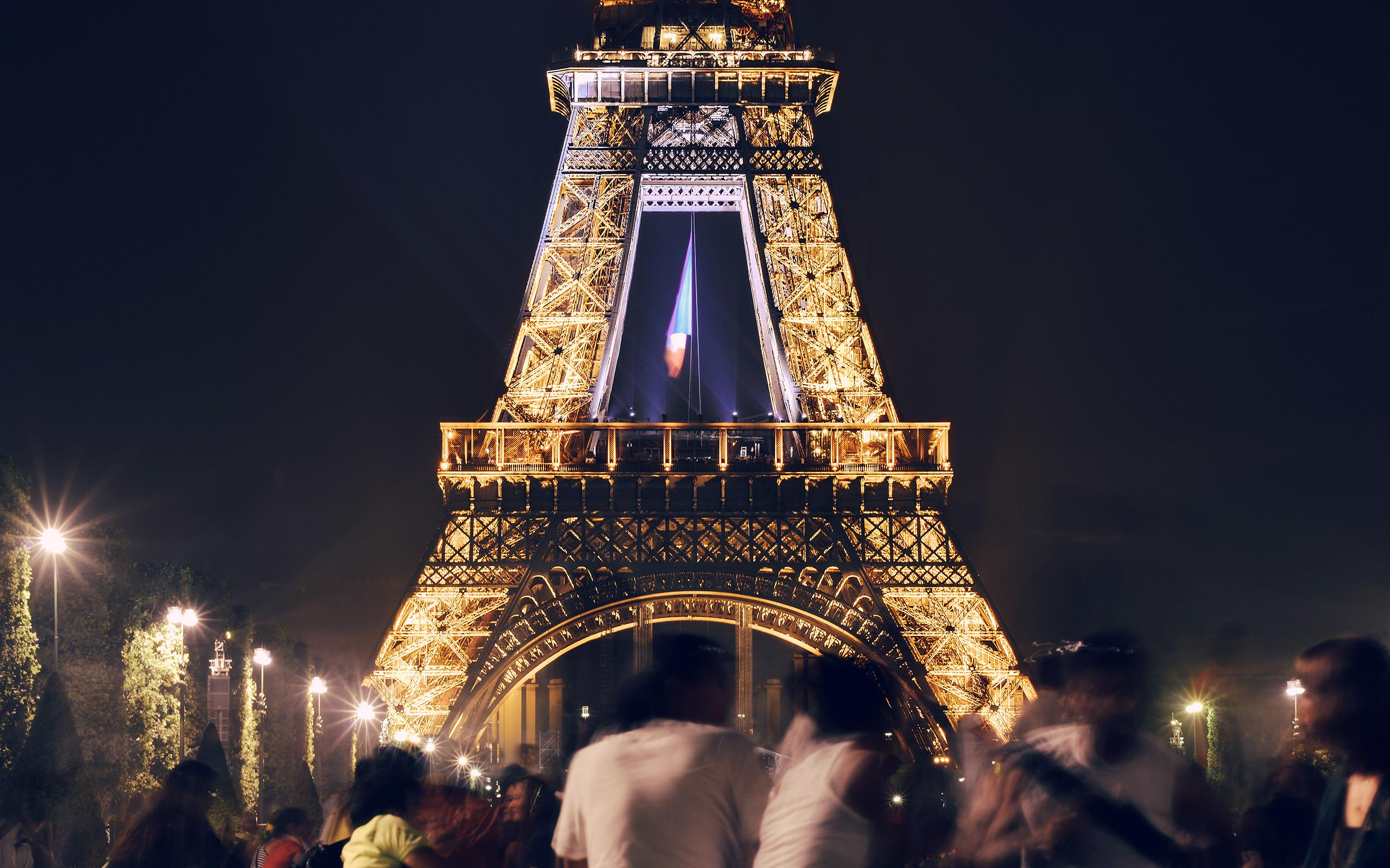 Fall Sunset Anime Wallpaper Ms39 Happy Paris Eiffel Tower France Tour Night City Dark