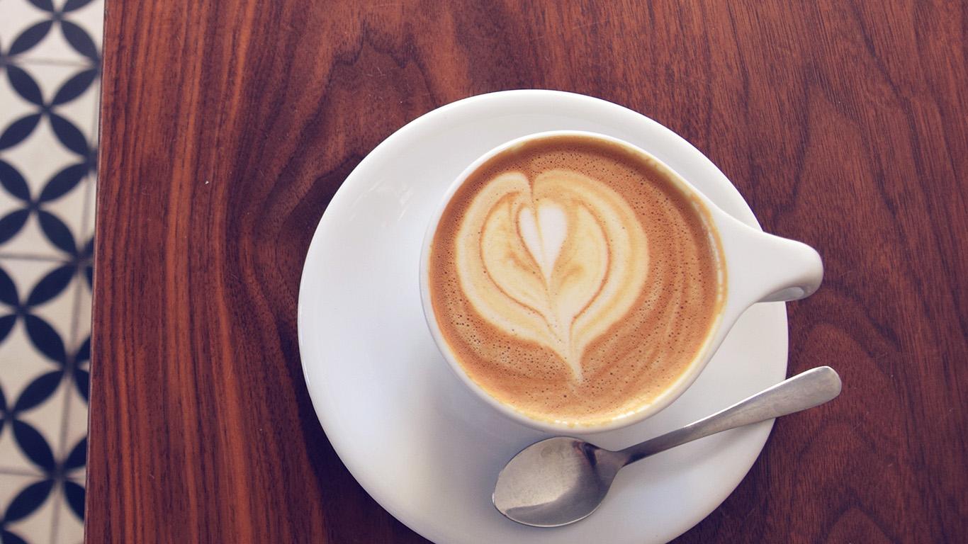 Fall Coffee Wallpaper Samsung 4 Mt16 Coffee Cup Heart Love Blue Wallpaper