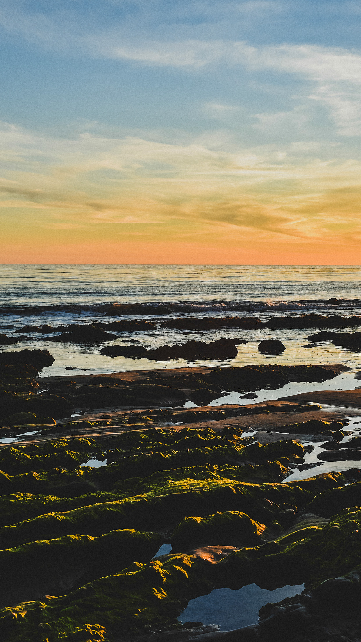 Cute Wallpapers For Macbook Pro Mv43 Ocean Sea Water Sky Sunset Afternoon Nature Papers Co