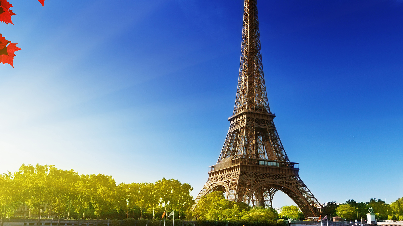 Cute Wallpaper Background For Desktop Na16 Sky Blue Eiffel Tower Nature Paris City Wallpaper
