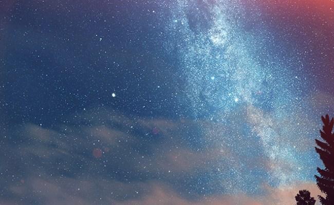 Nd08 Wonderful Tonight Space Star Sunset Mountain Flare