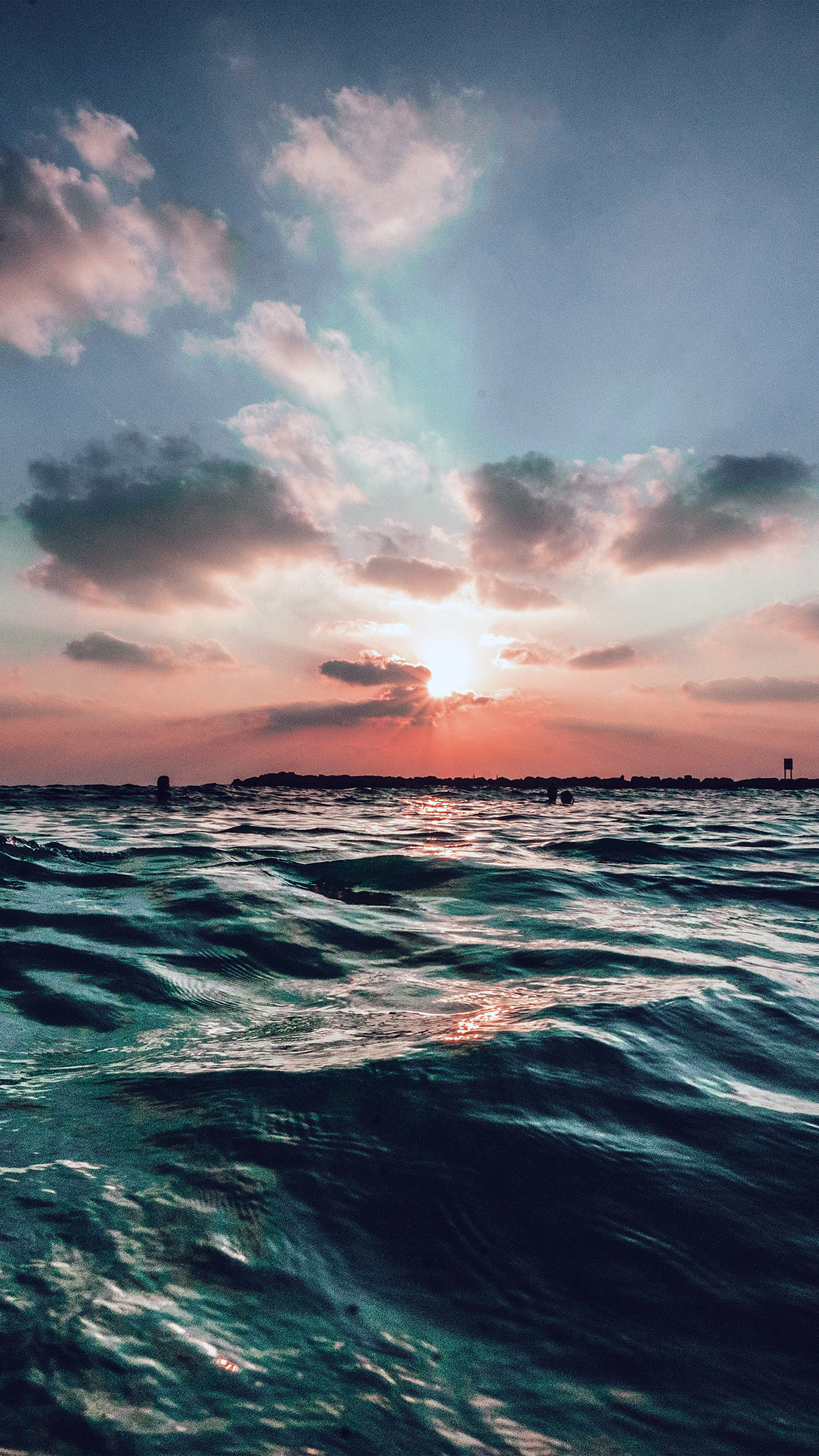 User rating, 4.8 out of 5 stars with 735 reviews. nf44-sunset-sea-sky-ocean-summer-blue-water-nature-wallpaper