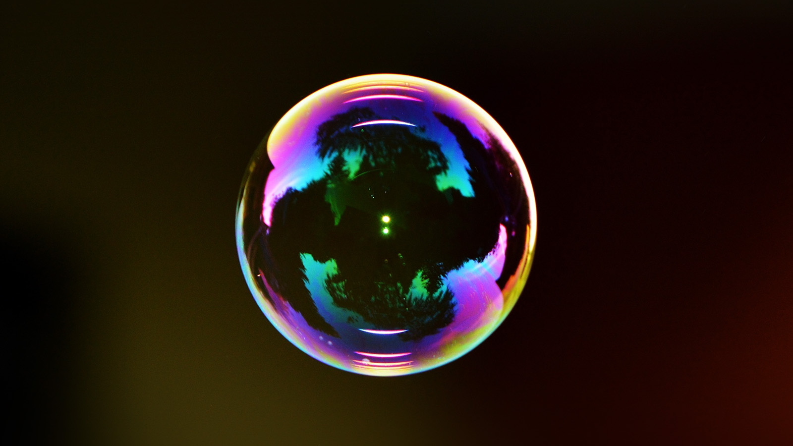 Laptop Wallpapers Fall Ni12 Bubble Circle Rainbow Color Bokeh Wallpaper