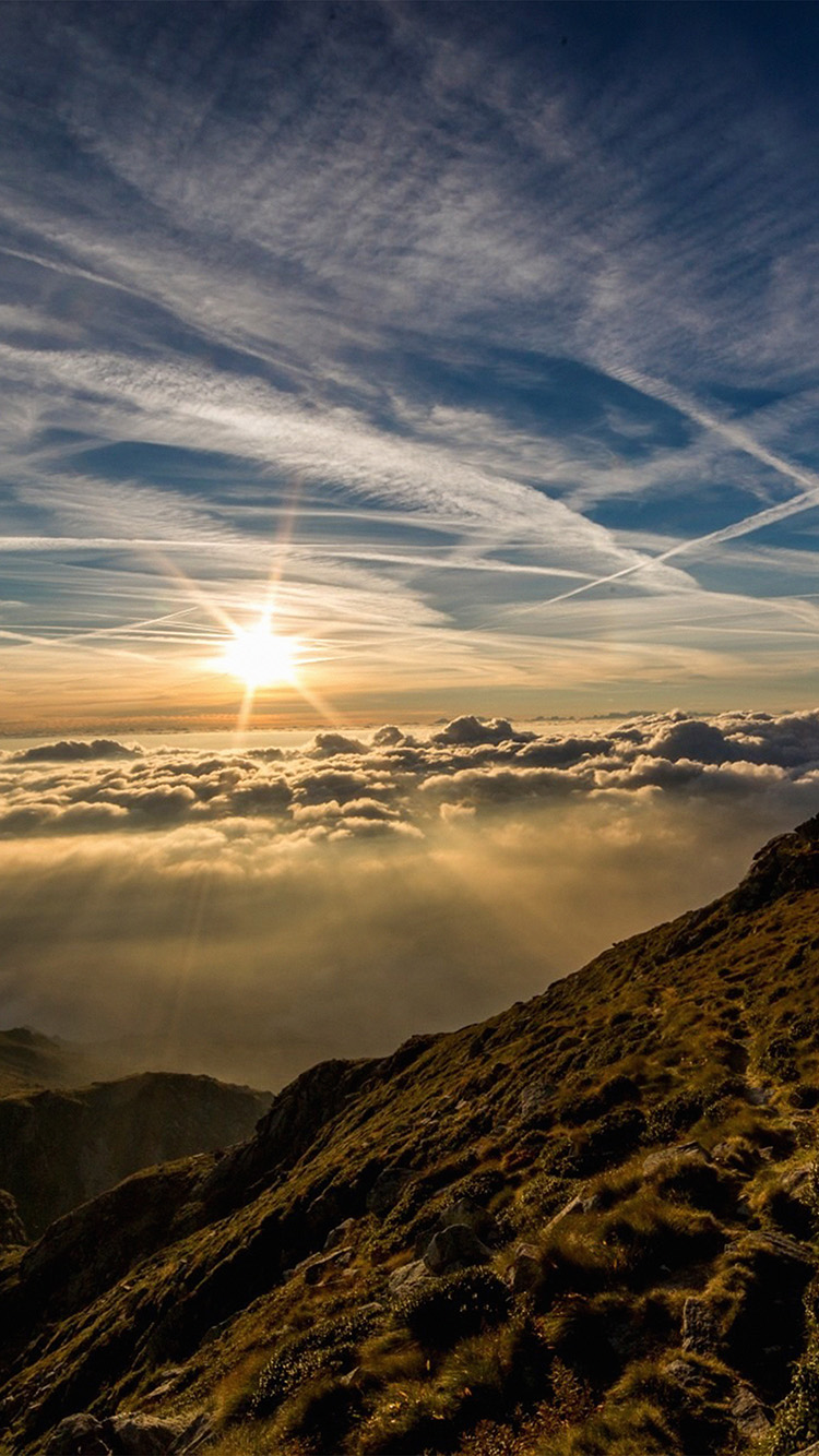 Archangel Michael Hd Wallpaper I Love Papers Nk24 Morning Mountain Sky Nature Shine
