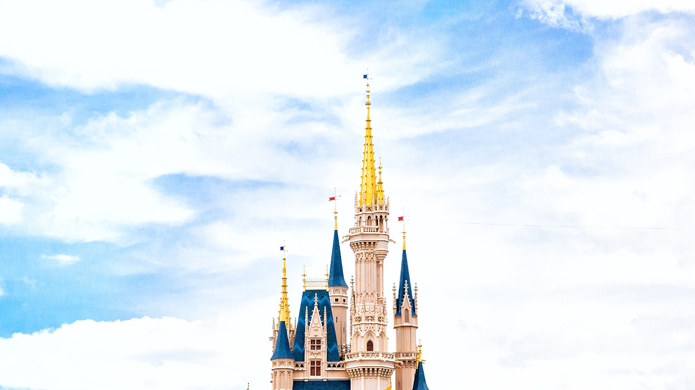 Laptop Wallpapers Fall Nn96 Disney World Castle Sky Wallpaper