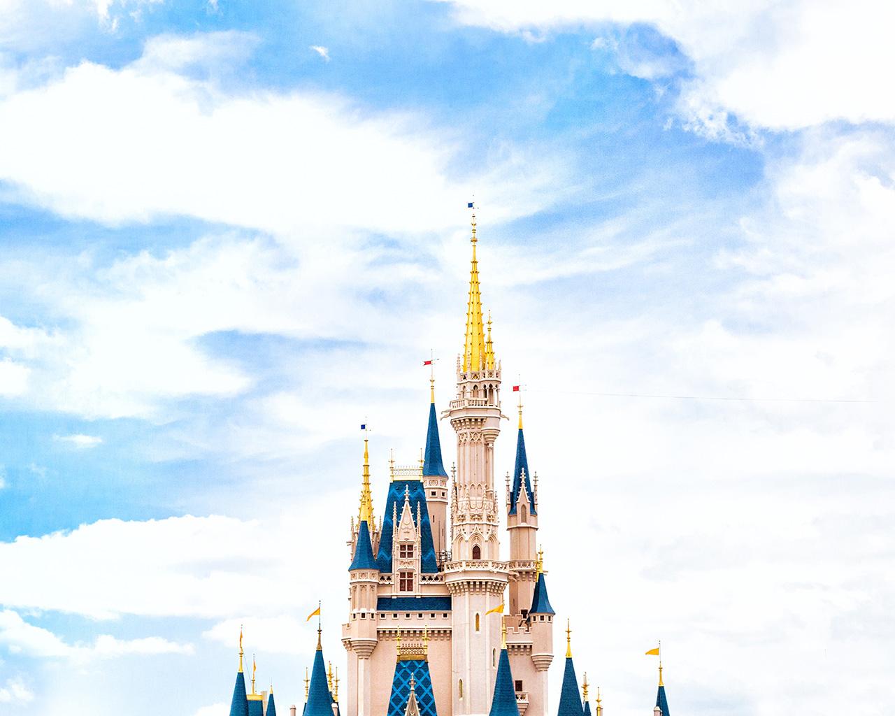 Hd Fall Wallpaper Backgrounds Nn96 Disney World Castle Sky Wallpaper
