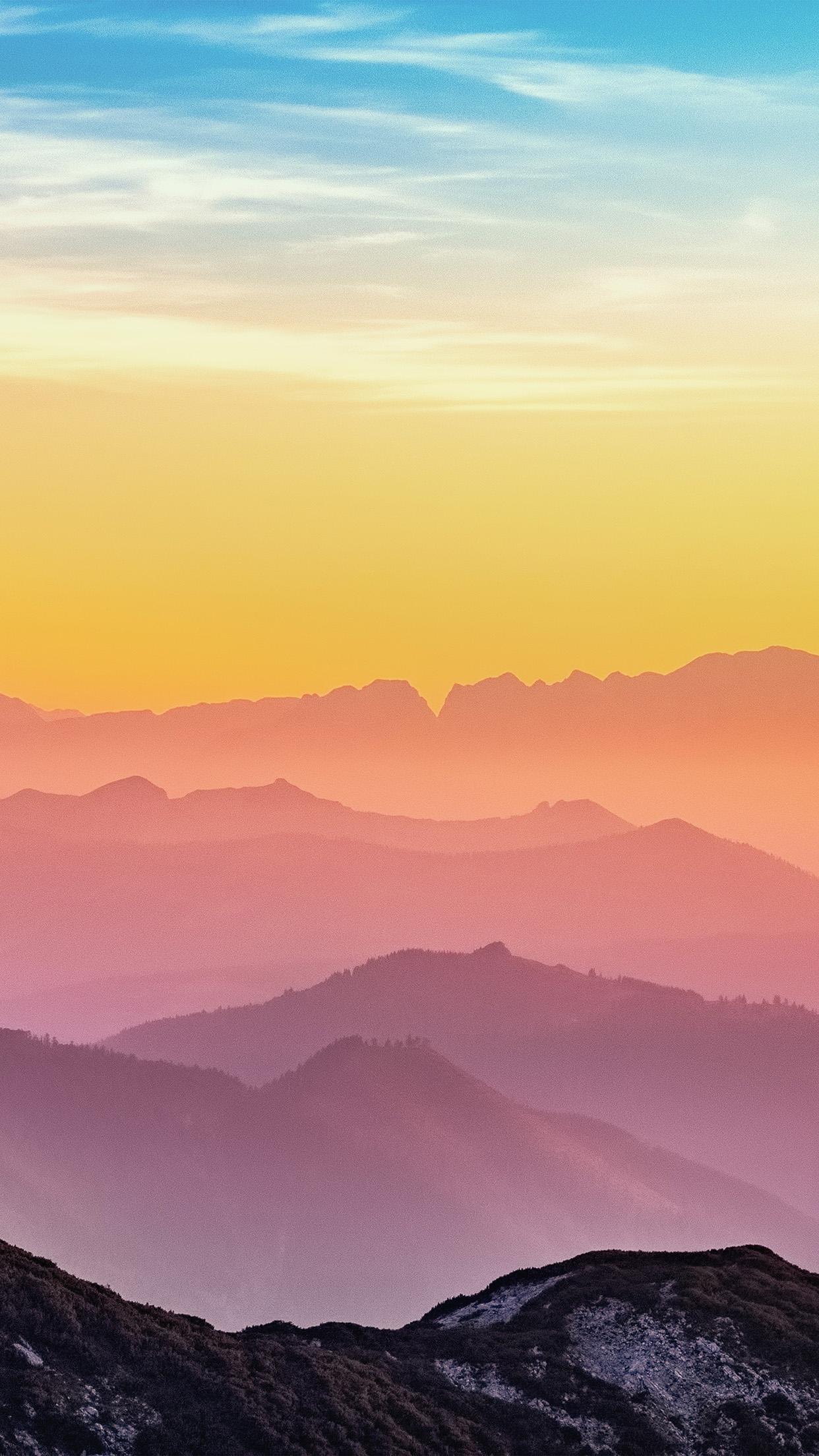 Cute Pastel Rainbow Wallpaper Ns97 Rainbow Mountain Color Nature Wallpaper