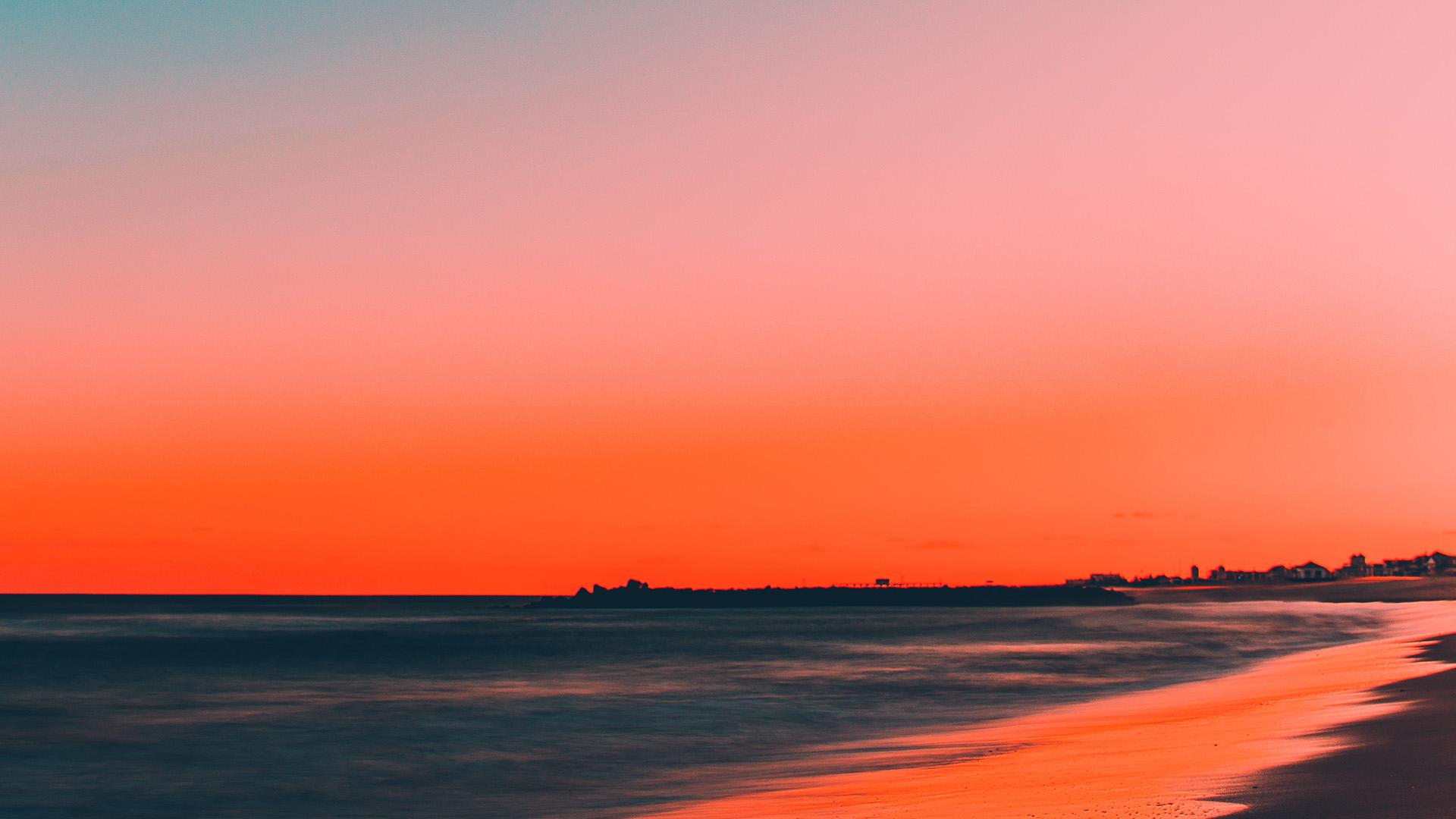 California Wallpaper Iphone 7 Nu77 Sunset Beach Fall Night Sea Nature Wallpaper