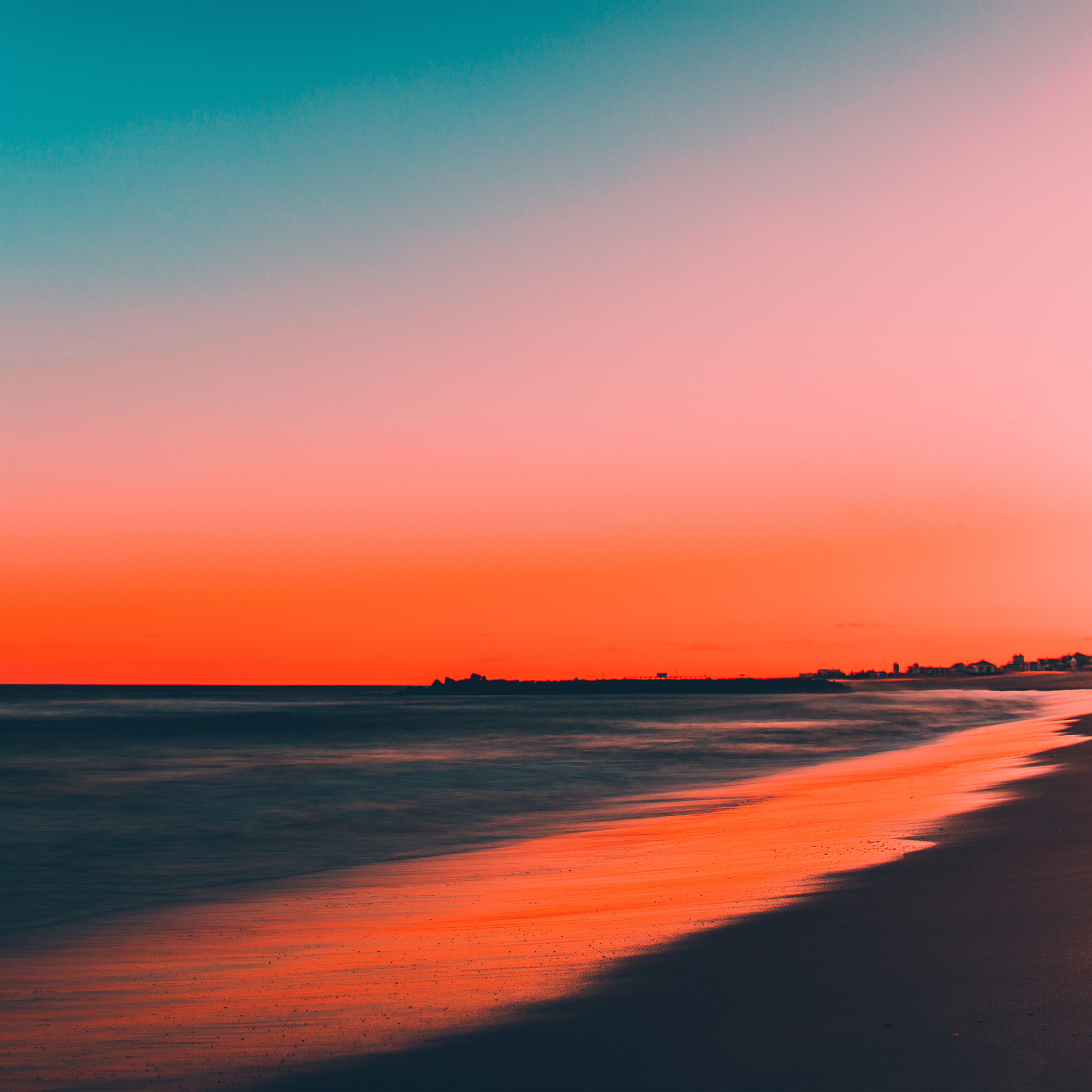 Note 8 Fall Wallpapers Nu77 Sunset Beach Fall Night Sea Nature Wallpaper