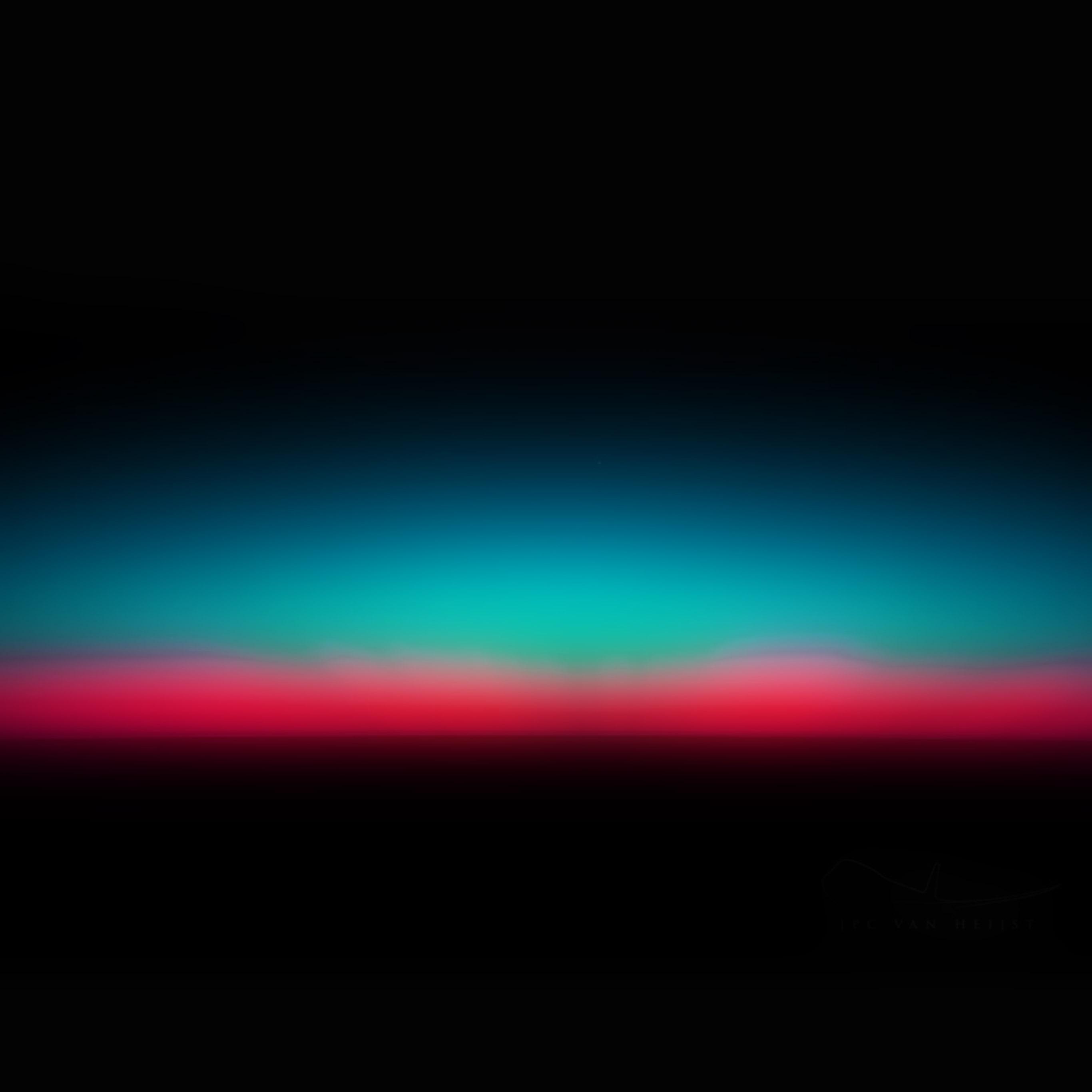 I Love Papers Sk36 Sunset Dark Red Green Horizontal Blur Gradation