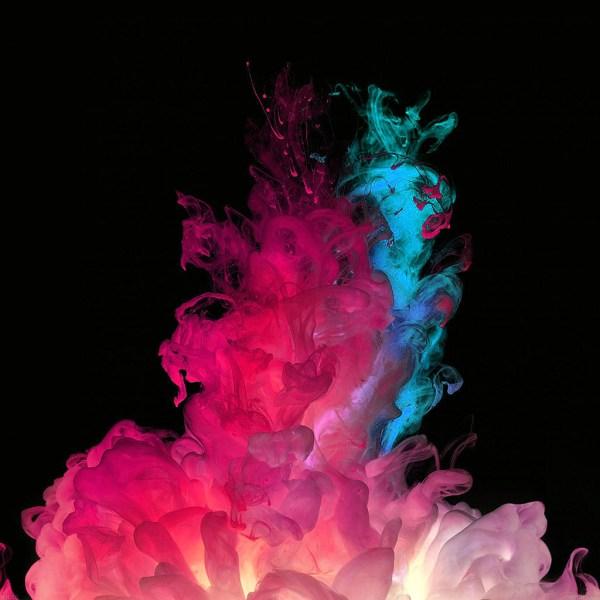 LG Wallpaper Smoke