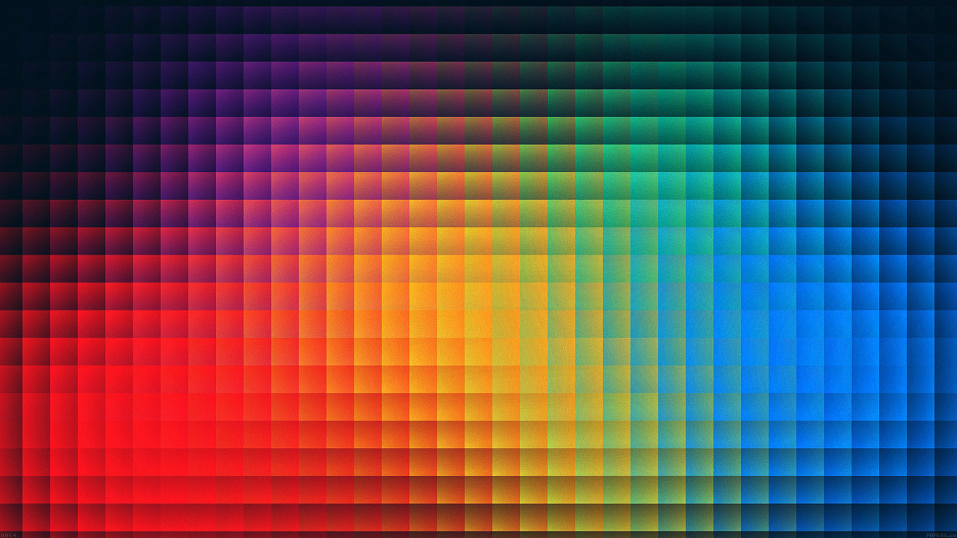 Fall Wallpapers Va54 Rainbow Pixels Pattern Papers Co