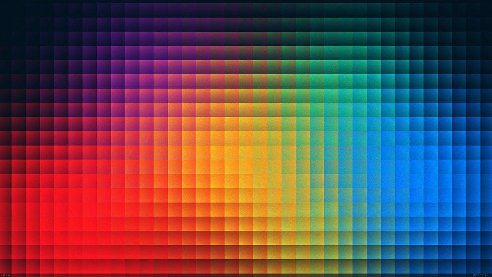 Fall Pixel Art Iphone Wallpaper Va54 Rainbow Pixels Pattern Papers Co