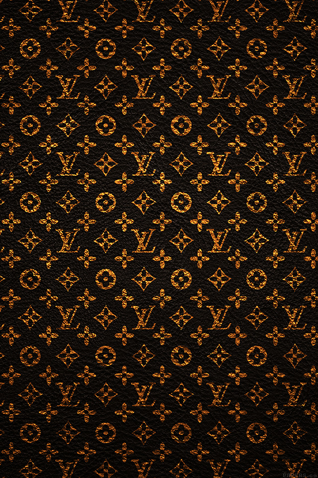 Gold Iphone X Wallpaper Vf20 Louis Vuitton Pattern Art Papers Co
