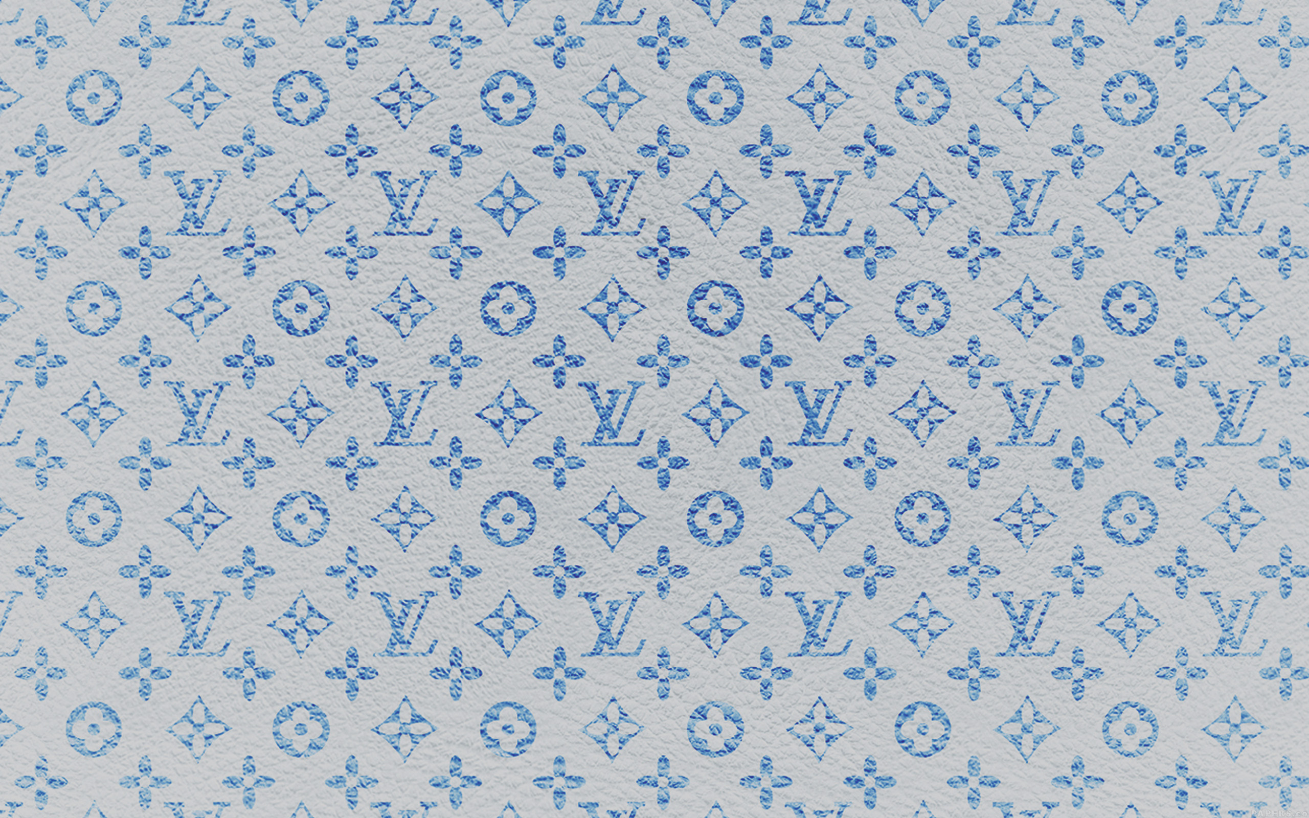Lv Iphone Wallpaper Vf21 Louis Vuitton Blue Pattern Art Papers Co