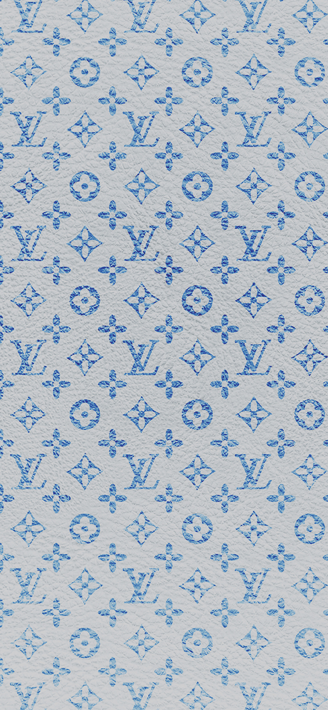 Louis Vuitton Wallpaper Iphone X Vf21 Louis Vuitton Blue Pattern Art Papers Co