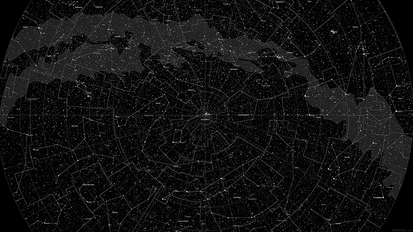 Vintage Map Iphone Wallpaper Vj04 Space Star Map Pattern Dark Papers Co