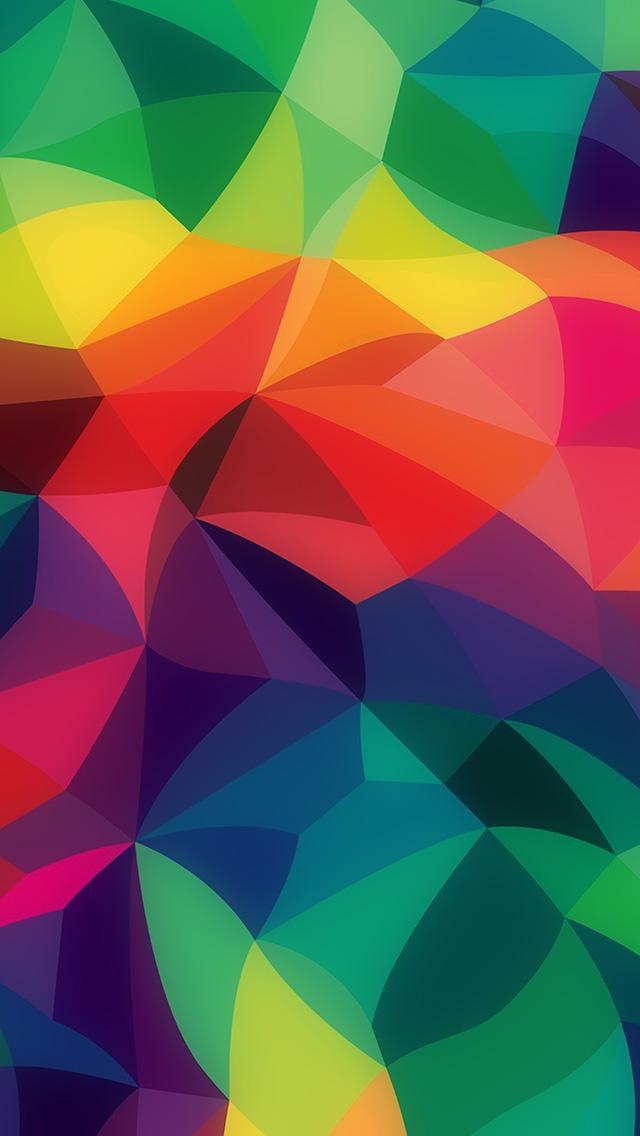 Ipad Air Cute Wallpaper Vk42 Rainbow Abstract Colors Pastel Dark Pattern Wallpaper