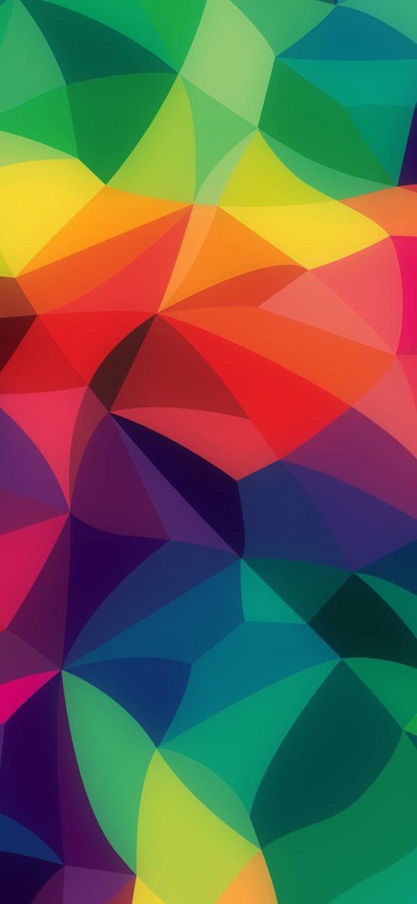 Apple Rainbow Abstract Wallpaper