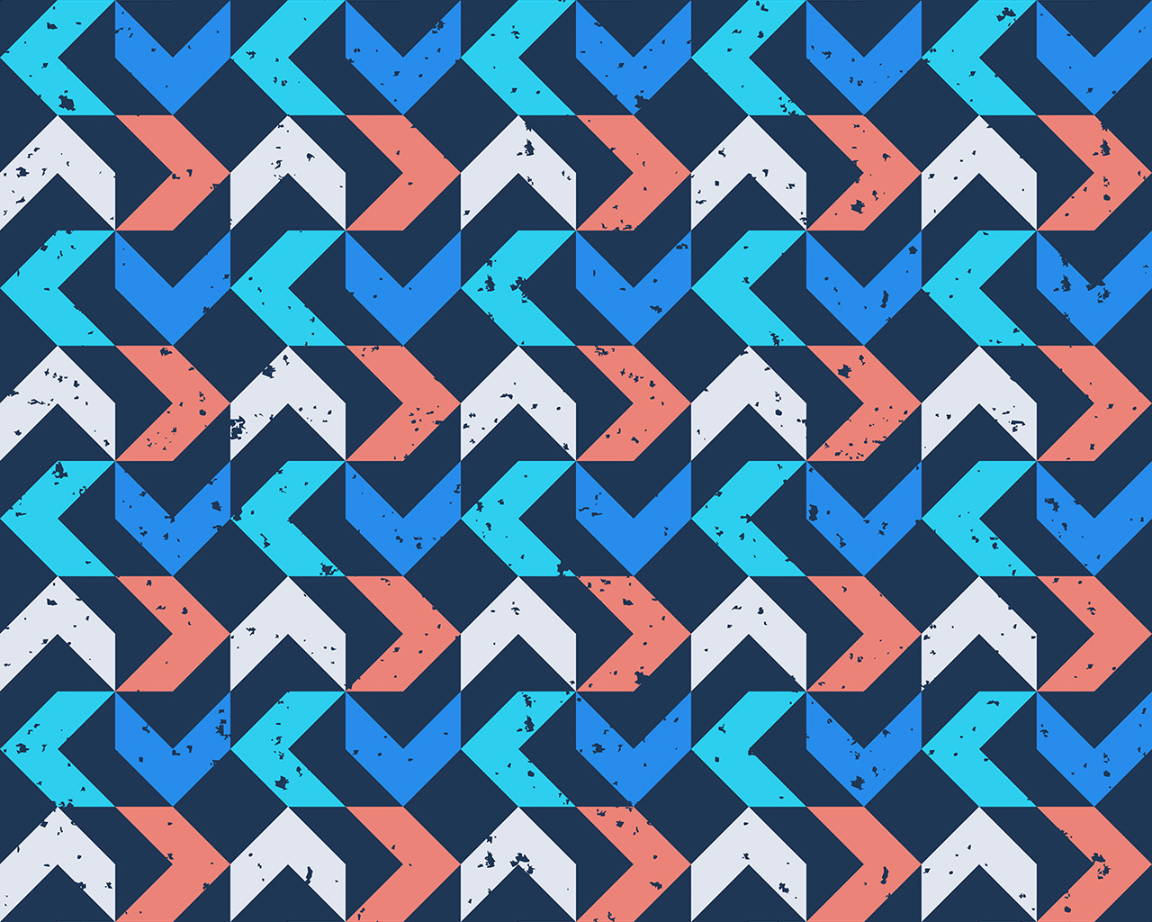 Snow Falling Wallpaper For Ipad Vo74 Retro Red Blue Pattern Grunge Wallpaper