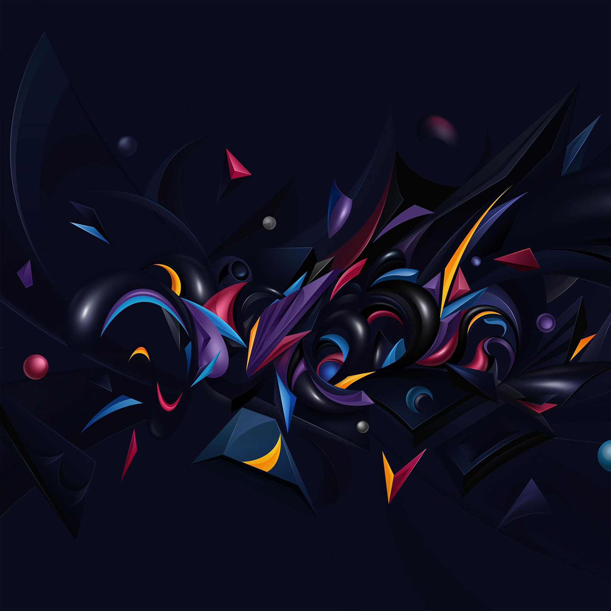 3d Wallpaper For Ipad Pro Vq27 Abstract Art Pattern Rainbow Wallpaper