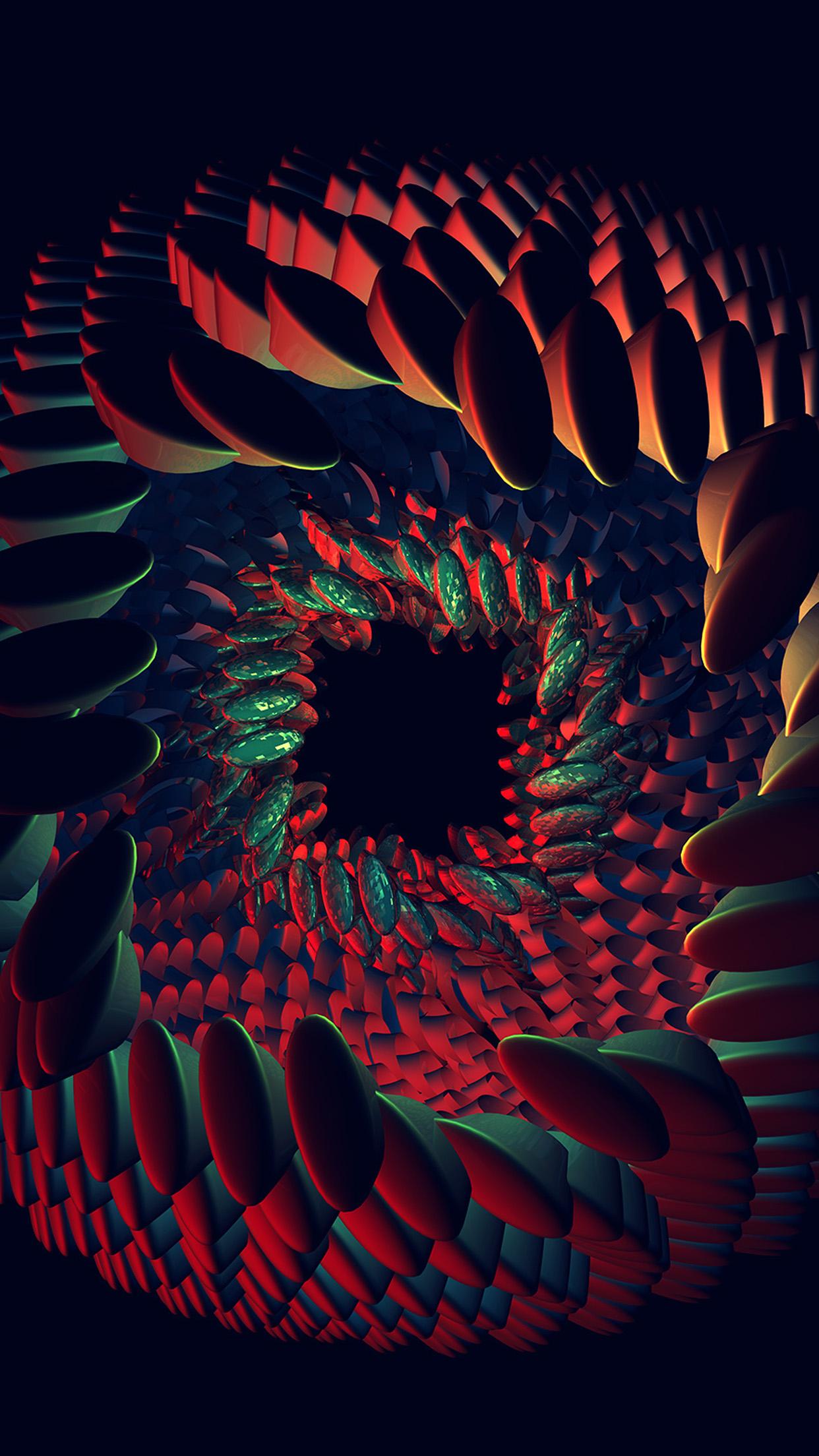 Cute Butterfly Phone Wallpaper Vq42 Seeds Dark Red Green Abstract Art Pattern Wallpaper