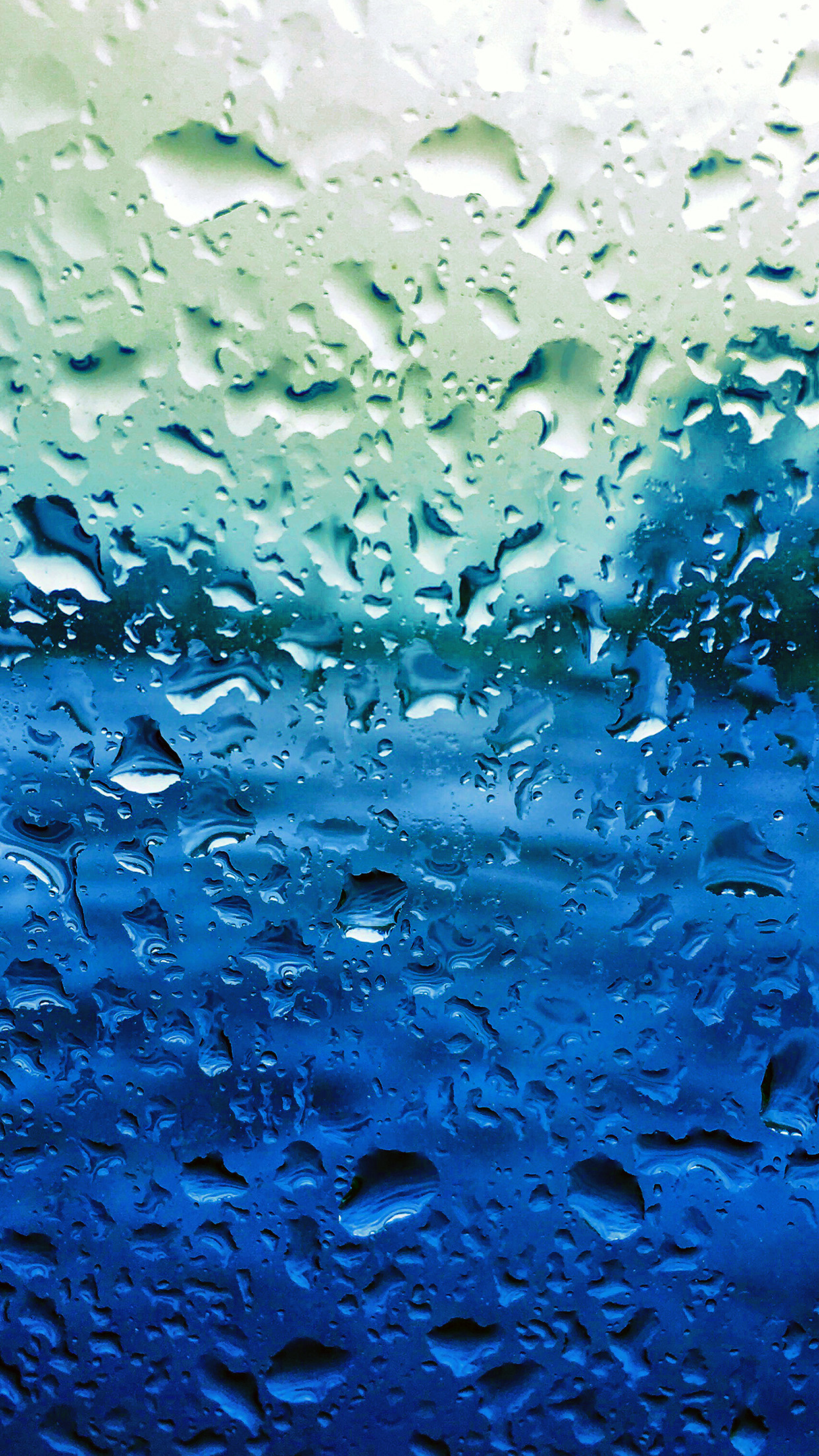 Cute Fall Hd Wallpaper Papers Co Iphone Wallpaper Vr69 Rain Drop Window Blue